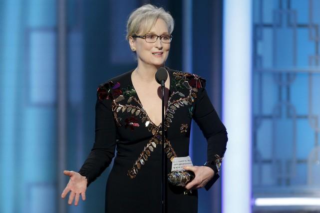 Le discours de Meryl Streep aux derniersGolden Globes... (Archives AP, Paul Drinkwater)