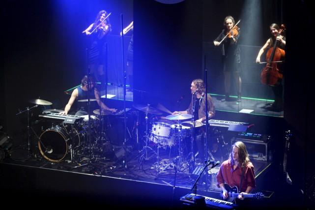 Lors de ce premier concert d'une série de... (Le Soleil, Jean-Marie Villeneuve)