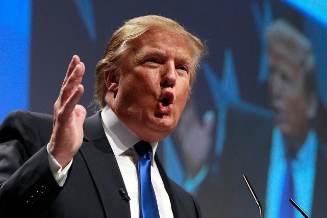 Le président des États-Unis, Donald Trump... (Archives, Associated Press)