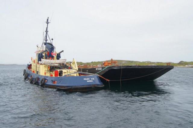 lente croissance du transport maritime sur courte distance
