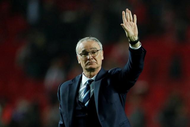 L'entraîneur de Leicester Claudio Ranieri a été congédié... (Photo John Sibley, Reuters)