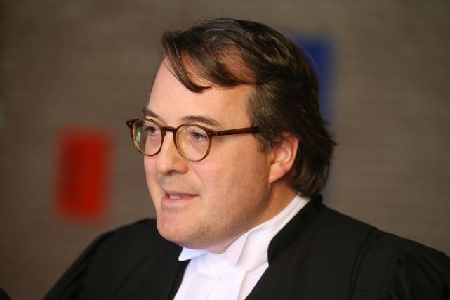 À la défense, Me Éric Simard, du cabinet... (Janick Marois)