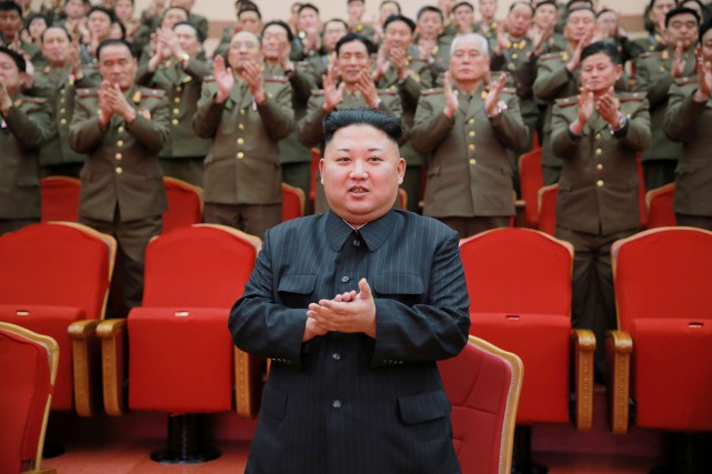 Le leader nord-coréen, Kim Jong Un... (PHOTO REUTERS/AGENCE KCNA)