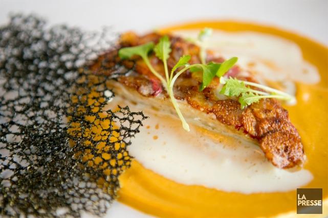 La chef Sophie Tabet, du restaurant Chez Sophie, a fait ses études de cuisine... (PHOTO DAVID BOILY, LA PRESSE)