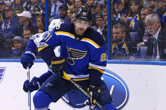 Patrik Berglund... (Photo Billy Hurst, USA Today Sports)
