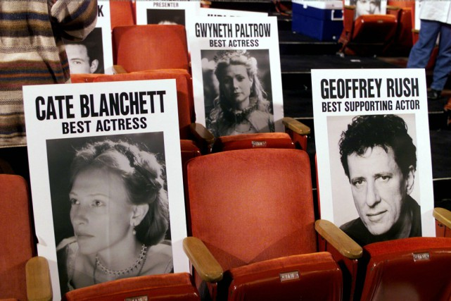 La disposition des sièges lors de la soirée... (PHOTO ARCHIVES REUTERS)