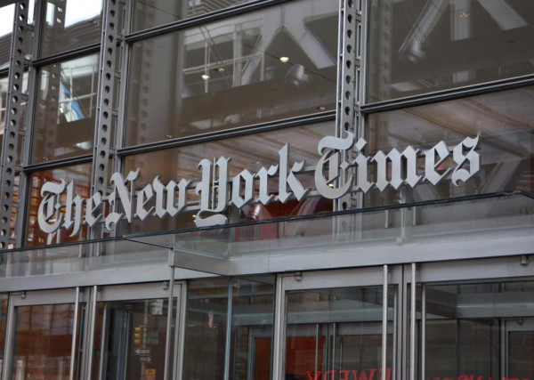 Le quotidien américain The New York Times se... (PHOTO DON EMMERT, ARCHIVES AGENCE FRANCE-PRESSE)