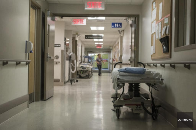 L'achalandage dans les salles d'urgences des hôpitaux de... (Archives, La Tribune)