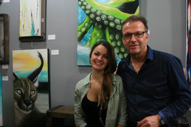 Peinture Jonquière a inauguré cette semaine sa nouvelle boutique déco: Boutique... (Mélissa Bradette)
