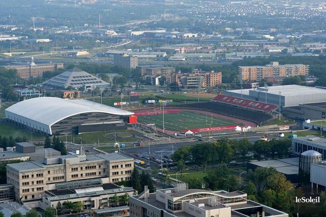 Le pavillon des sports de l'Université Laval sera... (Photothèque Le Soleil, Patrice Laroche)