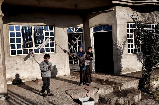 L'ONU et les ONG s'inquiètent pour les conditions... (AFP, Aris Messinis)