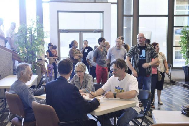 En juin 2012, 2350 électeurs s'étaient déplacés à... (Archives Le Nouvelliste)