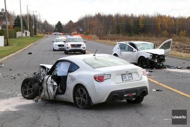 Le conducteur de la Volkswagen a été accusé... (archives La Voix de l'Est)