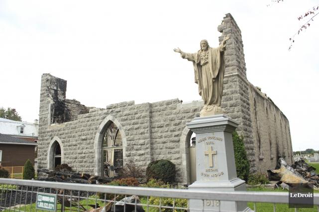Le nouveau lieu de culte, qui remplacera l'église... (Martin Brunette, archives Le Droit)