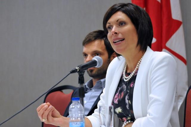 La députée de Jonquière, Karine Trudel... (Archives Le Quotidien, Rocket Lavoie)