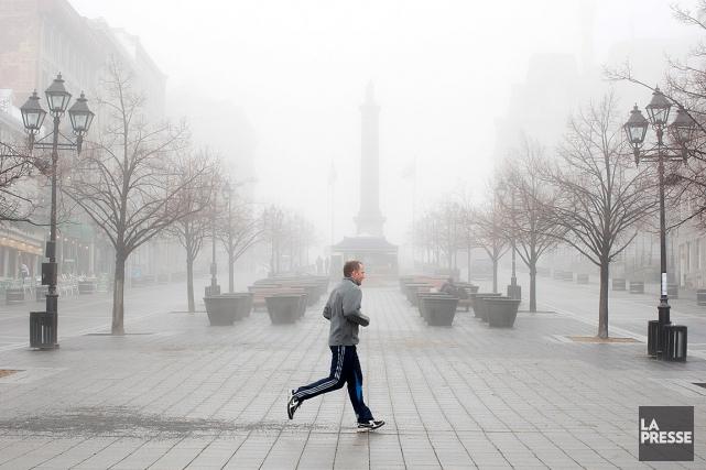 Les températures pourraient atteindre les 15degrés Celsius samedi dans le... (PHOTO, EDOUARD PLANTE-FRÉCHETTE, ARCHIVES LA PRESSE)