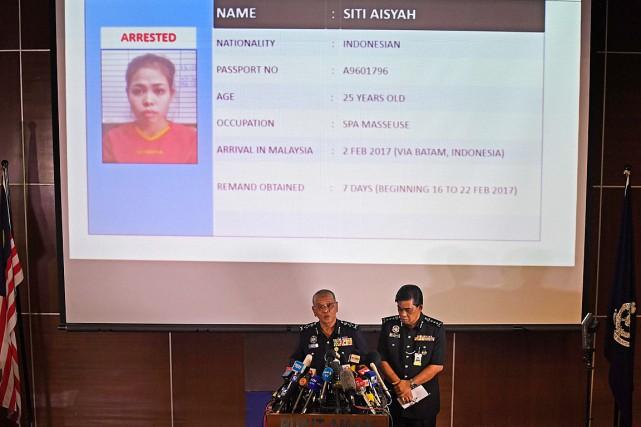 Les autorités malaisiennes ont dévoilé l'identité de la... (PHOTO MOHD RASFAN, ARCHIVES AFP)
