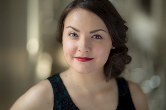 C'est une soprano originaire du Lac-Saint-Jean, France Bellemare,... (Courtoisie)