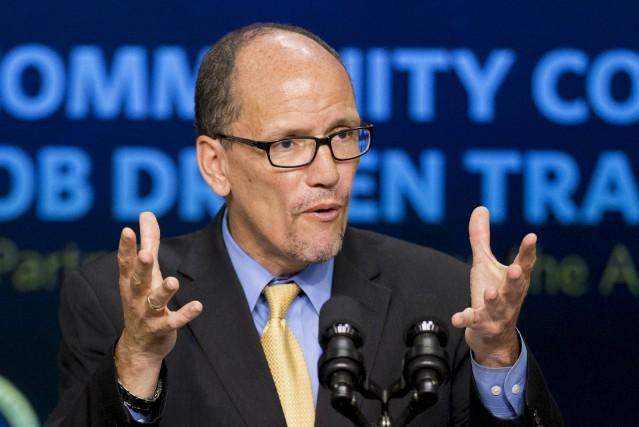 Le nouveau président du Parti démocrate, Tom Perez,... (Archves AP, Manuel Balce Ceneta)