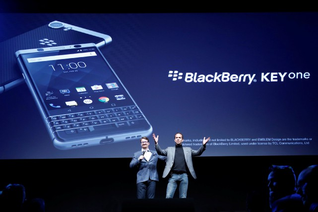 Au congrès mondialde la téléphonie mobile et de... (Photo Albert Gea, REUTERS)