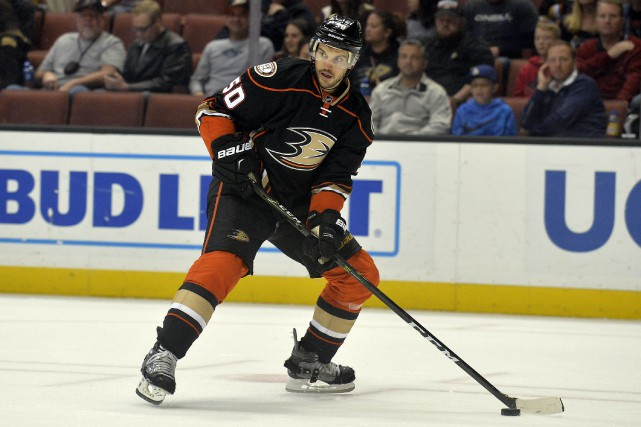 Antoine Vermette perdra 97 222 $ US en... (photo Gary A. Vasquez, archives USA TODAY Sports)