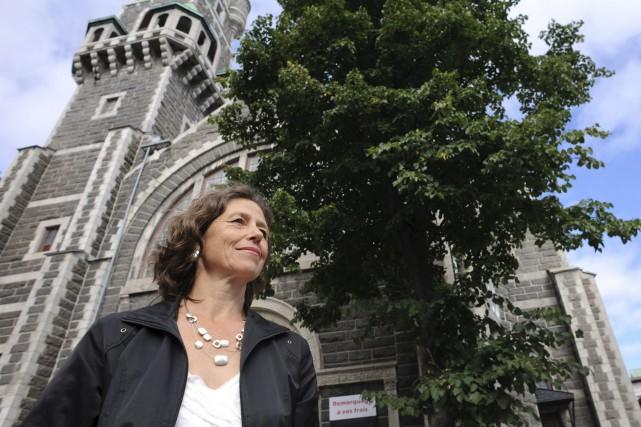 Johanne Elsener est porte-parole du Regroupement des conseils... (Photothèque Le Soleil)