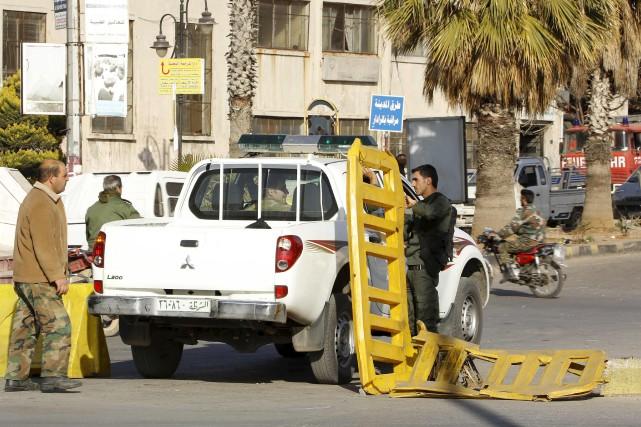 Les mesures de sécurité ont été renforcées à... (AFP, Stringer)