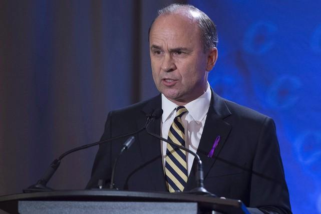 Le candidat à la direction du Parti conservateur... (La Presse canadienne, Andrew Vaughan)