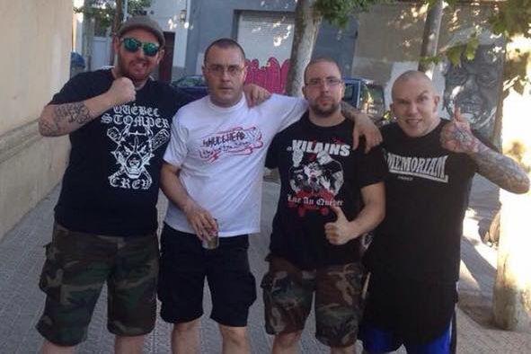Le groupe Légitime Violence, qui décrit son rock... (PHOTO TIRÉE DE LA PAGE FACEBOOK DU GROUPE)