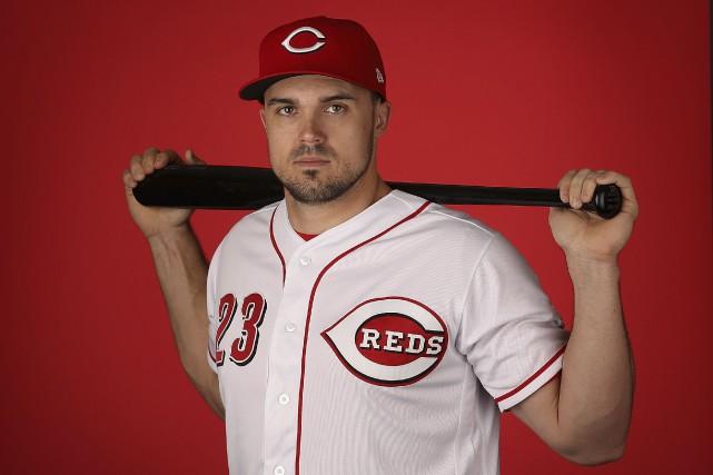 Le voltigeur de gauche des Reds de Cincinnati,... (AFP, Christian Petersen)