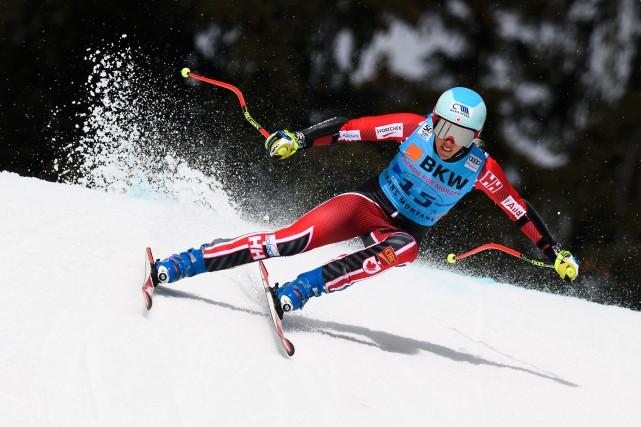Marie-Michèle Gagnon a terminé en quatrième position, dimanche... (AFP, Fabrice Coffrini)