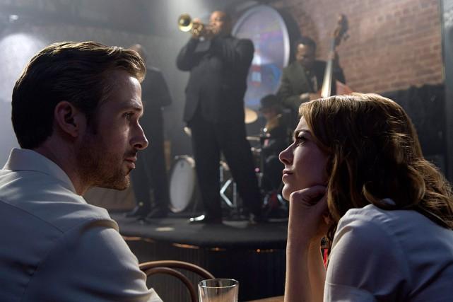 Ryan Gosling et Emma Stone sont tous les... (PHOTO FOURNIE PAR LA PRODUCTION)