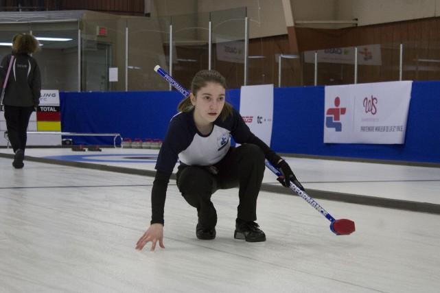 Pour les Jeux du Québec d'Alma, Florence Boivin... (Photo La Pige)