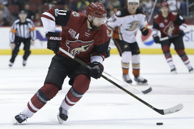 Martin Hanzal.... (Photo AP)