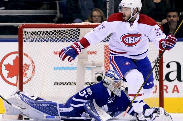 Alex Galchenyuk a sans doute la plus grande... (La Presse canadienne, Frank Gunn)