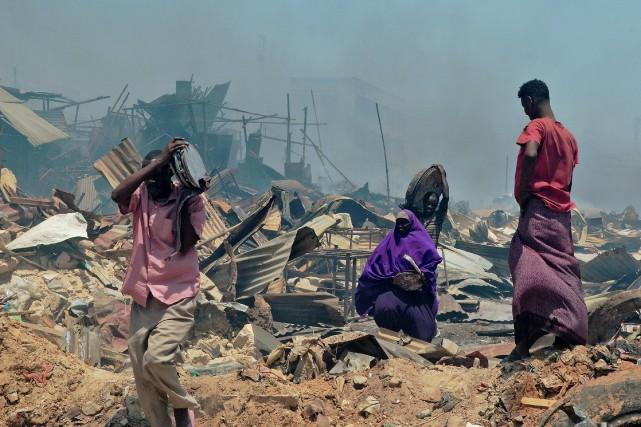 Le marché de Bakara est le poumon économique... (Photo Agence France-Presse/Stringer)