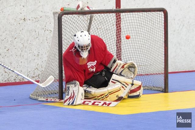 Le Complexe hockey balle de Sherbrooke devrait enfin comporter un bar au moment... (Archives La Presse)