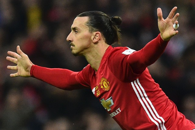 Zlatan Ibrahimovic... (Photo Glyn Kirk, archives AFP)