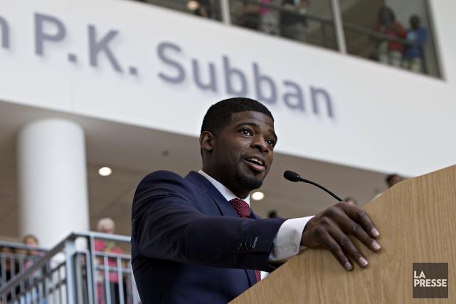 En septembre 2015, P.K. Subban a annoncé un... (Archives, La Presse)