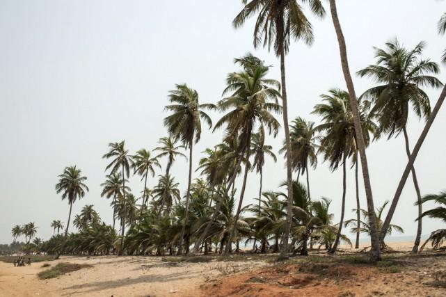 Ouidah, petite ville au bord de l'océan Atlantique,... (PHOTO ARCHIVES AFP)