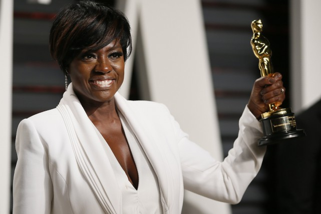 Viola Davis a décroché la statuette du second... (PHOTO AP)