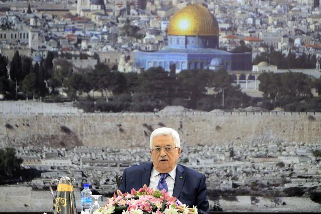 Le président palestinien Mahmoud Abbas, chefdu Fatah... (PHOTO ABBAS MOMANI, ARCHIVES AGENCE FRANCE-PRESSE)