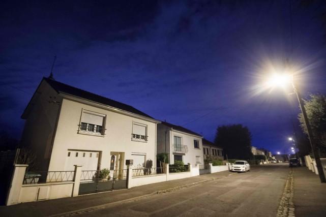Le domicile de la famille Troadec, dansun quartier... (PHOTO AFP)