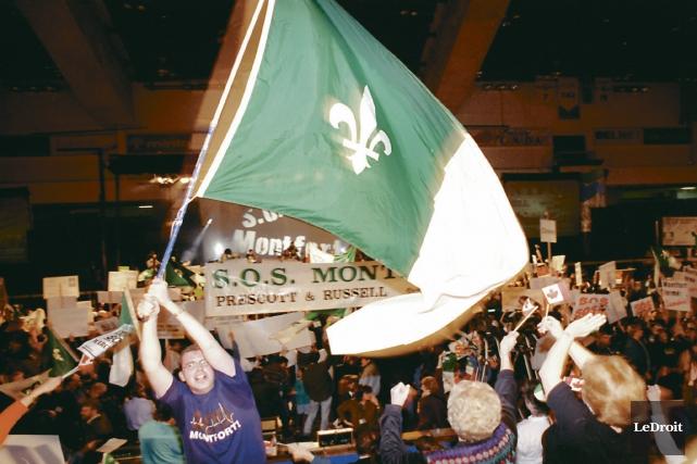 Les Franco-Ontariens feront vibrer à nouveau la Place... (Archives, Le Droit)
