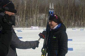 La skieuse de fond Magalie D'Aoust accorde une... (Courtoisie)