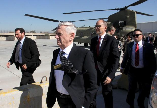 Le nouveau secrétaire à la défense des États-Unis,... (AFP, Thomas Watkins)