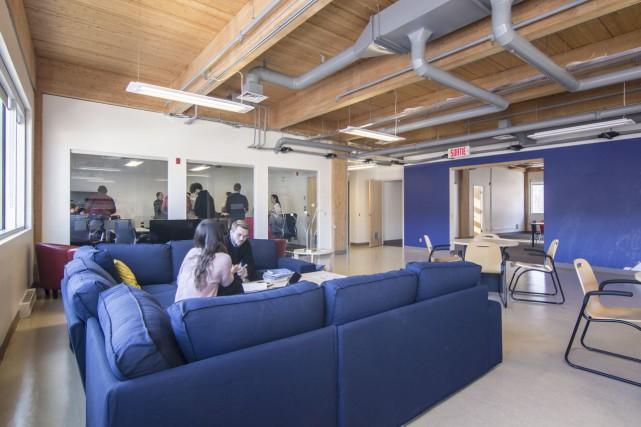 L'implantation du Camp, l'incubateur accélérateur d'entreprises technologiques de... (fournie par Québec International)
