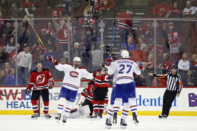 Alex Galchenyuk a inscrit son 14e but de... (PHOTO REUTERS)