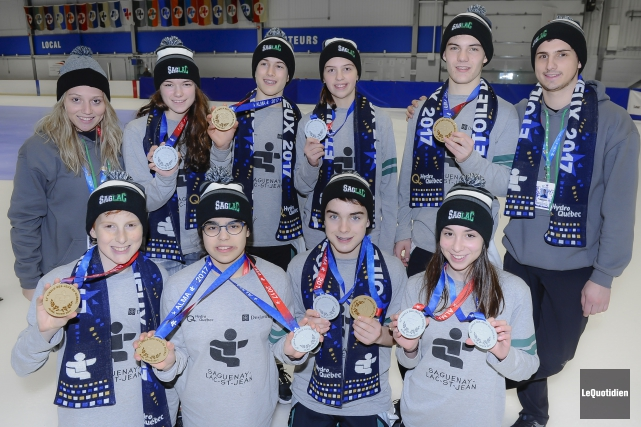 Les patineurs de vitesse du Saguenay-Lac-Saint-Jean ont plus... (Photo Le Quotidien, Gimmy Desbiens)