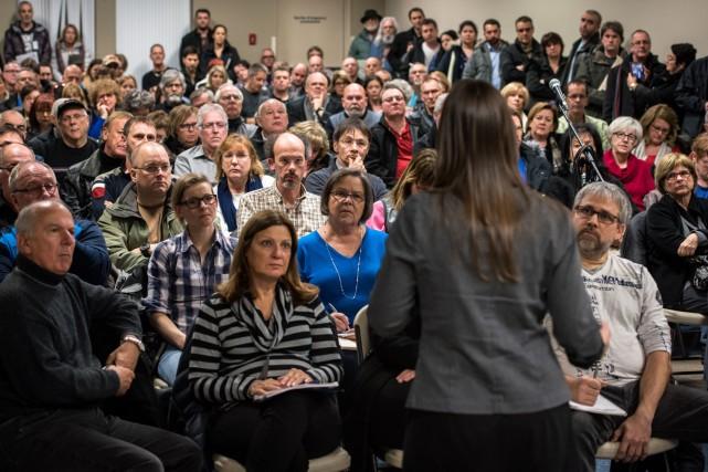 Plus de 250 personnes ont assisté à la... (François Gervais, Le Nouvelliste)